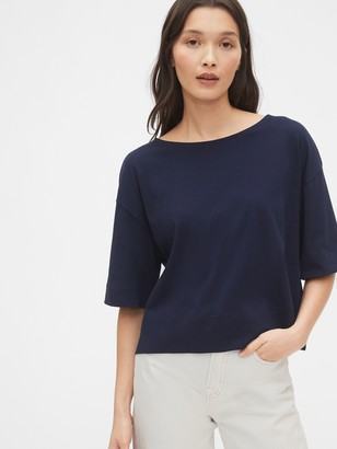 Gap Tie-Back Cropped T-Shirt