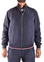Paul & Shark Men's Blue Polyester Outerwear Jacket.