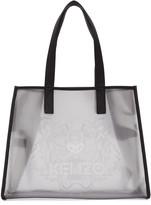Kenzo Clear East West Tote Bag