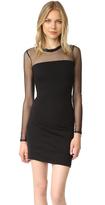 Pam & Gela Long Sleeve Mesh Dress