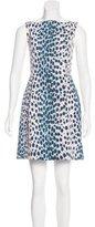 Christian Dior Printed A-Line Dress