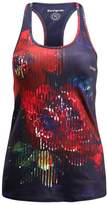 Desigual RACER TRAINING Vest blue night garden