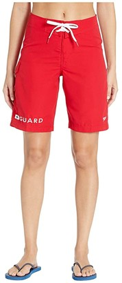 Speedo Guard 21 Boardshort (Red) Women's Swimwear