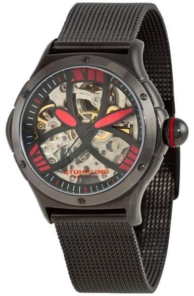 Stuhrling Original Alpine Slalom 5AT.115964 Stainless Steel 37mm x 34mm Watch