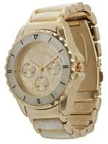 Merona Women's Metal Bracelet with Boyfriend Style Dial Watch - Gold