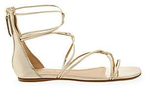 Schutz Women's Fabia Metallic Gladiator Sandals