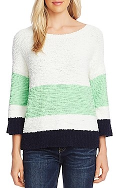 Vince Camuto Color-Block Sweater