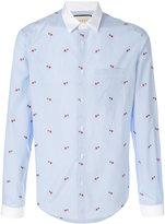 Gucci heart fil coupé duke shirt - men - Cotton - 39