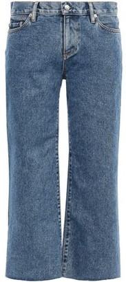 Simon Miller Cropped Mid-rise Straight-leg Jeans
