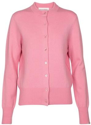 Extreme Cashmere N 99 Little cashmere-blend cardigan