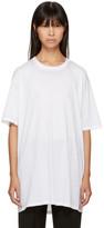 Baja East White Burn Out T-shirt