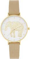 Accessorize Gold Elephant Watch