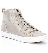 Keds Kickstart Hi Metallic Sneakers
