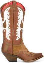 Buttero western boots - women - Calf Leather/Leather - 36