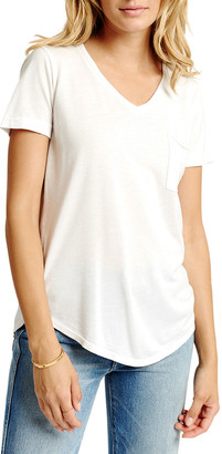 Sol Angeles Sol Essential Torque Short-Sleeve V-Neck Tee