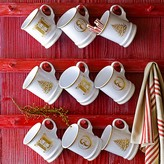 Williams-Sonoma Gold Christmas Tree Mug