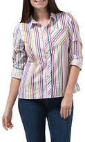 Sugarhill Boutique Vicki Candy Stripe Shirt, Multi
