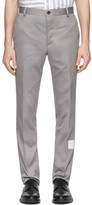 Thom Browne Grey Unconstructed Chinos
