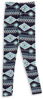 Planet Gold Girls 7-16 Patterned Leggings