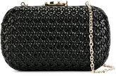 Corto Moltedo Susan C Star clutch bag - women - Calf Leather/Leather/Silk Satin - One Size