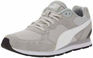 Puma Unisex Adults' Vista Sneakers Black White-Charcoal Gray 10.5 UK