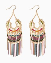 Charming charlie Bohemian Time Statement Earrings