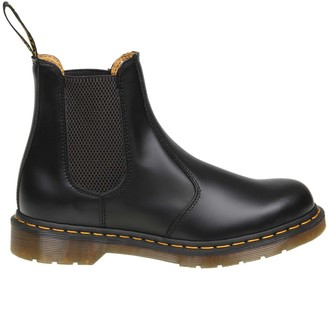 Dr. Martens Ankle Boot 2976 In Black Leather