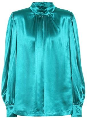 Dries Van Noten Satin blouse