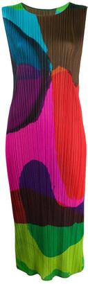Pleats Please Issey Miyake Energetic Dress