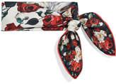 Dolce & Gabbana Floral-print Silk-twill Scarf - Ivory