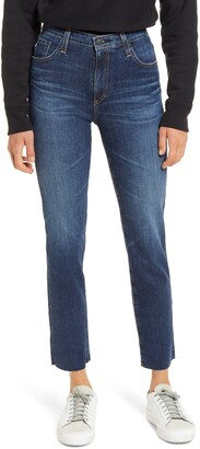 AG Jeans The Isabelle Ankle Straight Leg Jeans