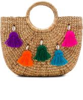 JADEtribe Mini Tassel Small Basket