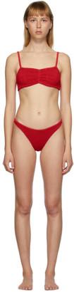 Hunza G Red Trina Bikini