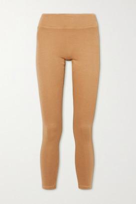 Reebok x Victoria Beckham Travel Jersey Leggings - Camel