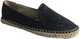 C Label Black Glitter Alder Loafer