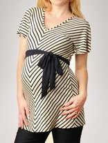 Weston Wear Apeainthepod Short Sleeve V-neck Flutter Sleeve Maternity Tunic