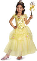 Disguise Belle Deluxe Dress - Size m (7-8)