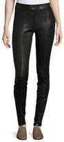 Elizabeth and James Eddine Leather High-Waist Skinny Pants