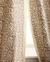 """Creative Threads Each 50""""W x 96""""L Shimmer Stone Curtain"""