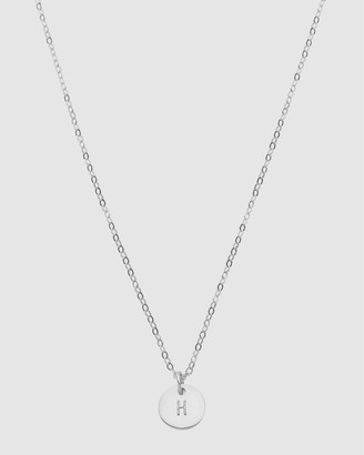 Dear Addison Initial H Letter Necklace