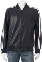 X-Ray Men's XRAY Slim-Fit Faux-Leather Jacket