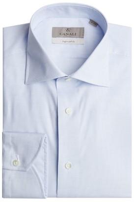 Canali Check Shirt