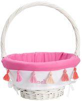 Pottery Barn Kids Tassel Easter Basket Liner Bright Pink