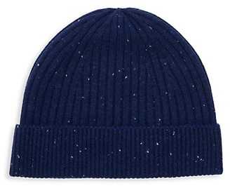 Saks Fifth Avenue Ribbed Wool Cashmere Beanie