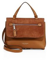 Marc Jacobs Waverly Small Leather & Suede Top-Handle Satchel