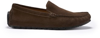 Hugs & Co Tyre Sole Driving Loafers Brown Suede