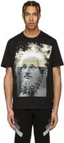 Neil Barrett Black Einstein T-Shirt