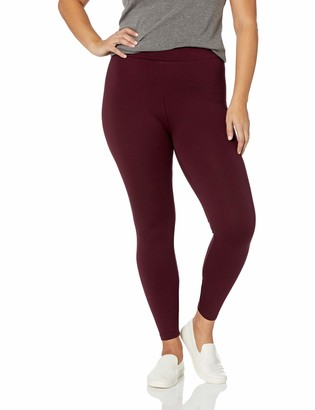 Daily Ritual Amazon Brand Women's Plus Size Ponte Knit Legging