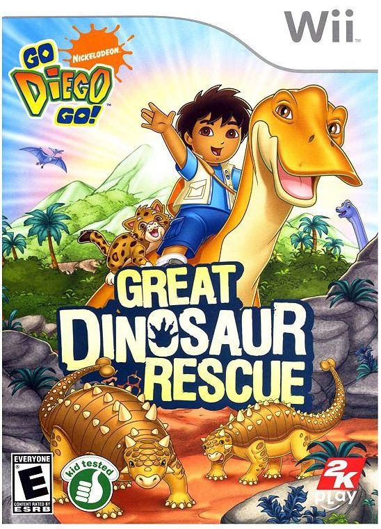 Nintendo wii go diego go great dinosaur rescue