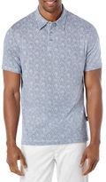 Perry Ellis Geo-Printed Polo Shirt